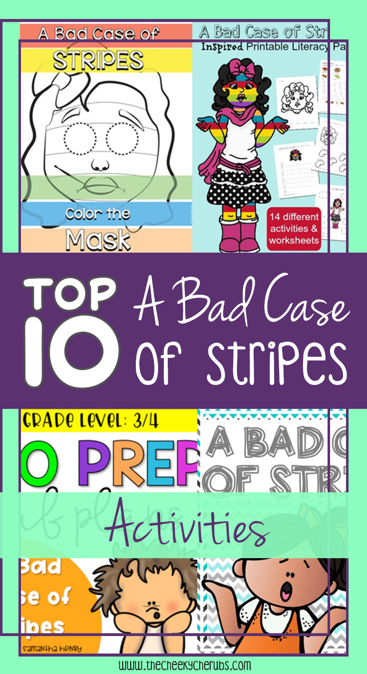 A Bad Case Of Stripes Activities And Freebies The Cheekycherubs