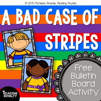 a bad case of stripes scholastic bookshelf